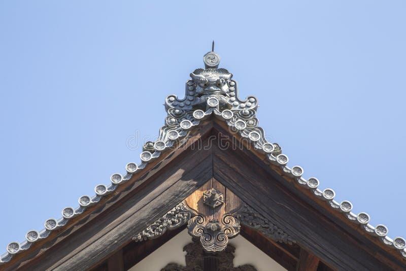 Download Японская крыша замка стоковое фото. изображение насчитывающей kyoto - 40581414