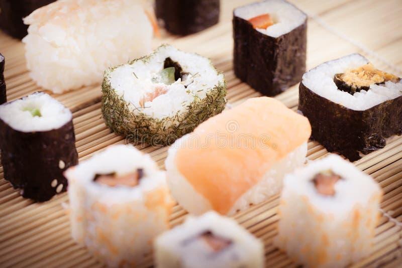 Японская культура суш стоковое фото