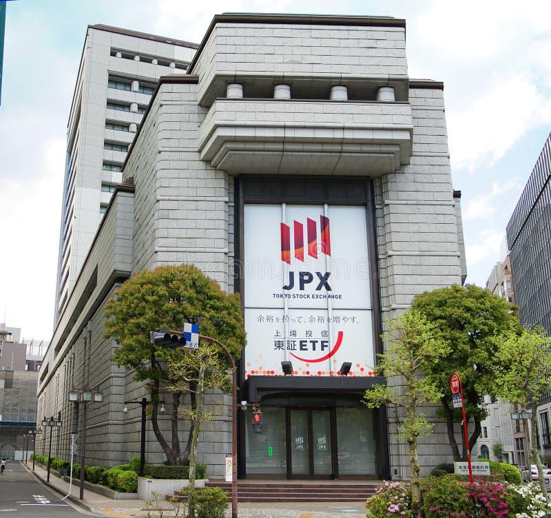 Японская фондовая биржа токио стоковые изображения rf