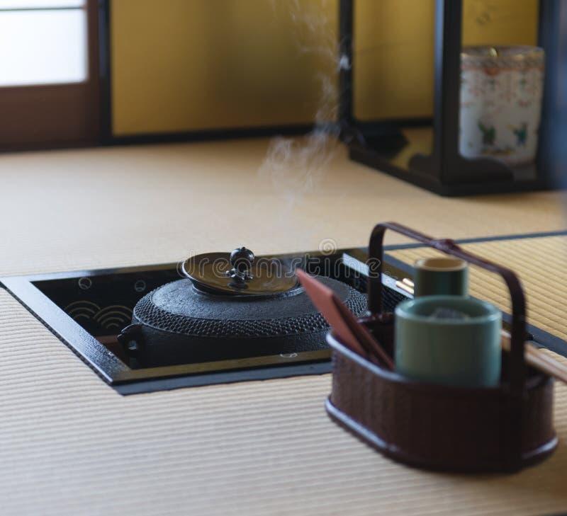 Японская церемония чая стоковые фото