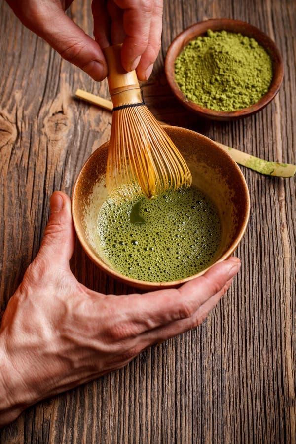 Японская церемония чая стоковое изображение rf