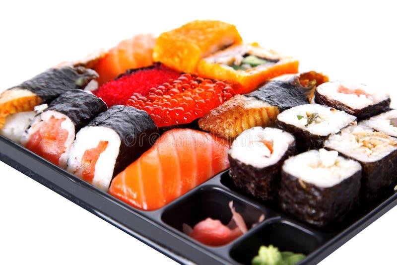японские суши традиционные стоковое фото