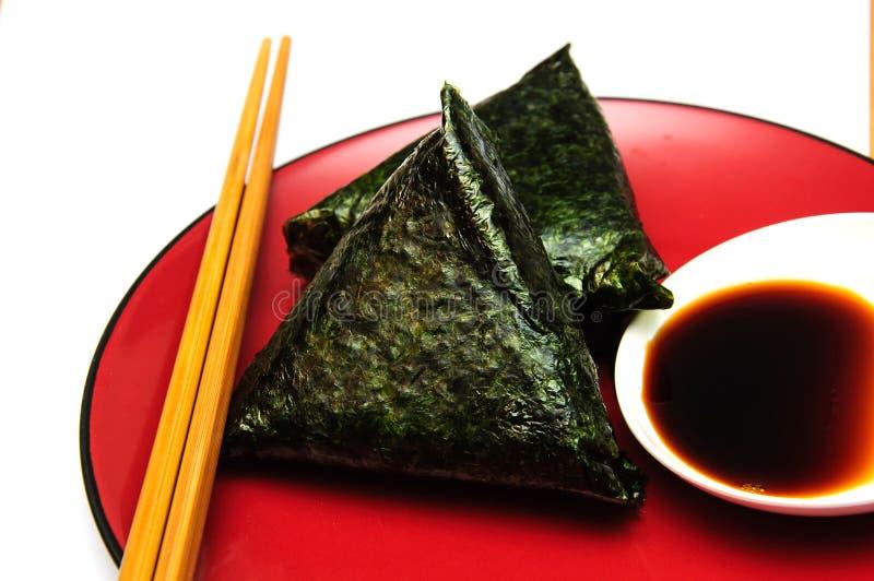 Японские торты риса стоковые фото