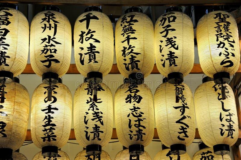 Японские lampions стоковые изображения