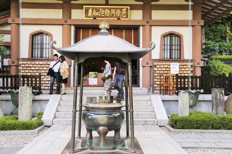 Download Японский висок в Камакуре редакционное стоковое фото. изображение насчитывающей востоковедно - 40591608