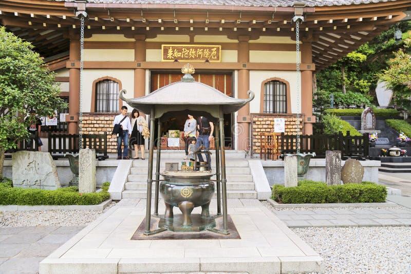 Download Японский висок в Камакуре редакционное фото. изображение насчитывающей востоковедно - 40591621