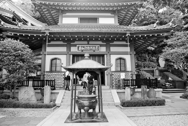 Download Японский висок в Камакуре редакционное фотография. изображение насчитывающей традиционно - 40591657