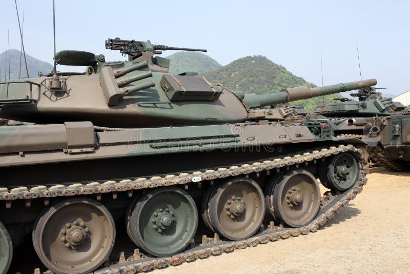 Японский воинский танк стоковое фото rf