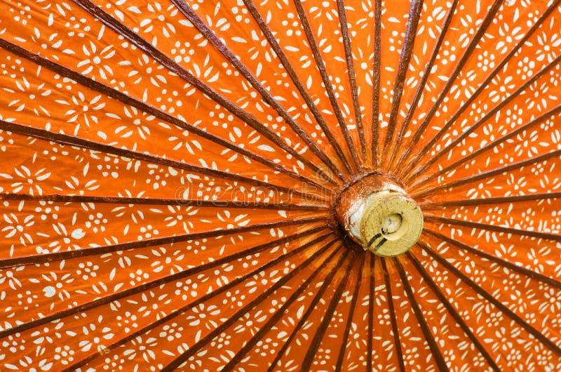 Японский конец-вверх зонтика стоковая фотография rf