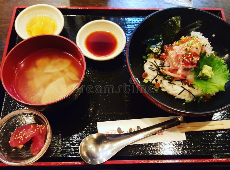 японский обед стоковое фото rf