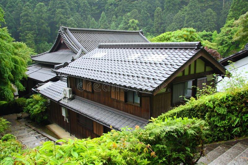 Японский дом стоковые изображения rf