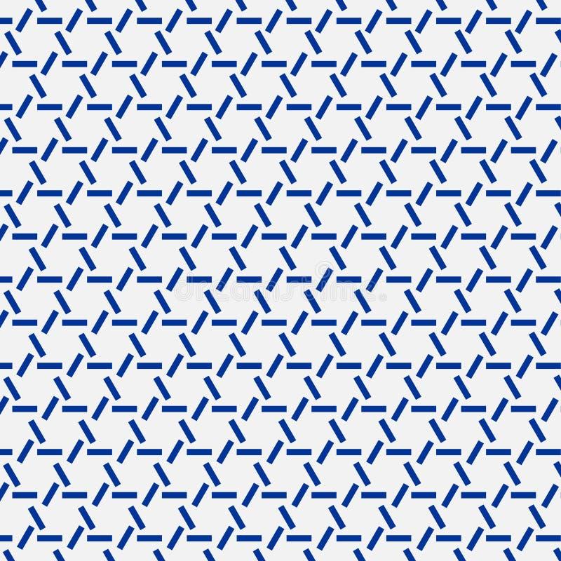 Японский орнамент sashiko Азиатские мотивы вышивки иллюстрация штока
