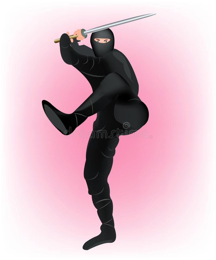 японский ратник самураев бесплатная иллюстрация