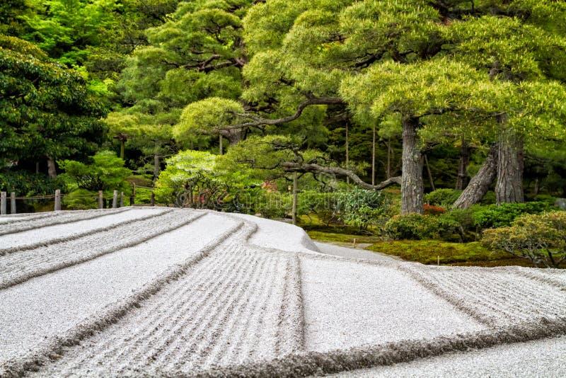 Японский сад Дзэн стоковое фото