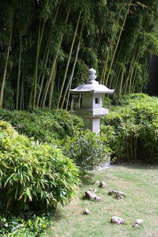 Японский сад стоковое фото rf