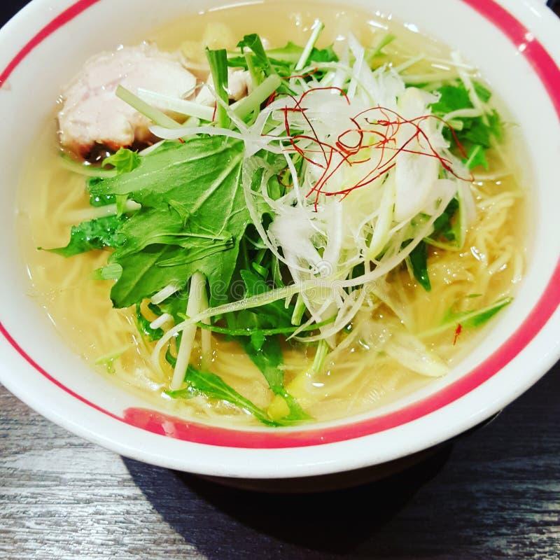 Японский суп рамэнов стоковое изображение rf