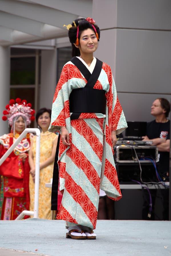японское кимоно стоковые фото