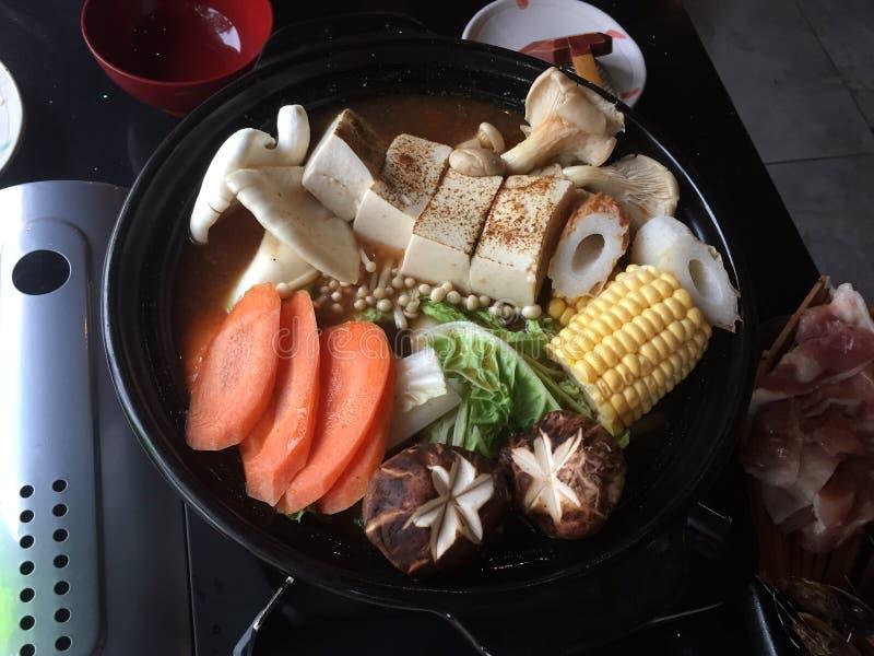 Японское shabu стоковое изображение rf