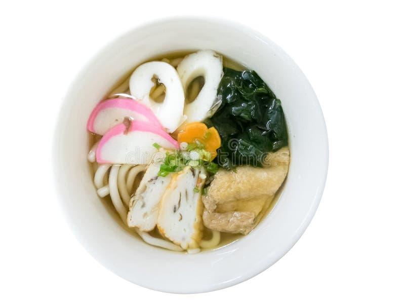 японское udon лапшей стоковое фото