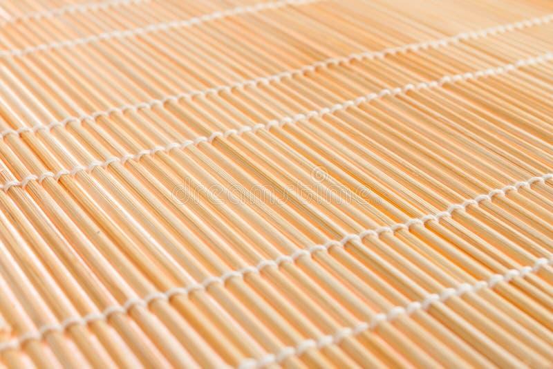 японцы делают текстуру суш циновки к стоковое изображение rf