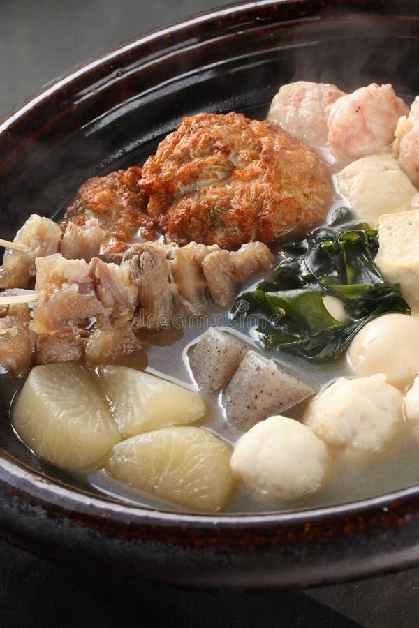 японцы еды oden стоковое изображение rf