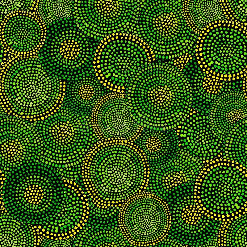 Яркая безшовная картина Выплеск точки акварели бесплатная иллюстрация