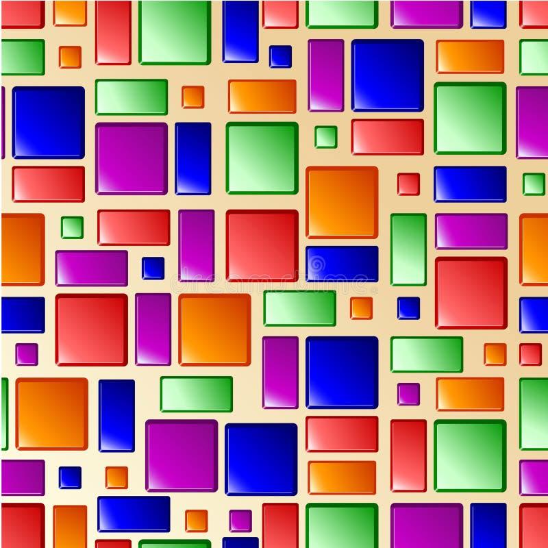 Download яркая безшовная плитка текстуры Иллюстрация вектора - иллюстрации насчитывающей декоративно, ванна: 18392767