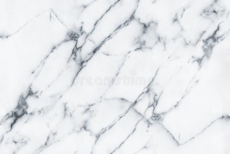 Яркая естественная мраморная картина текстуры для роскошной белой предпосылки Современные пол или отделка стен, готовая для испол стоковые фотографии rf