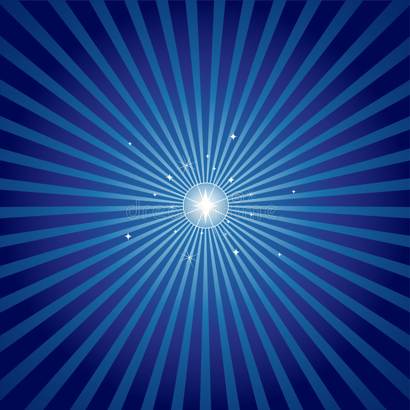 яркая звезда вечера иллюстрация штока