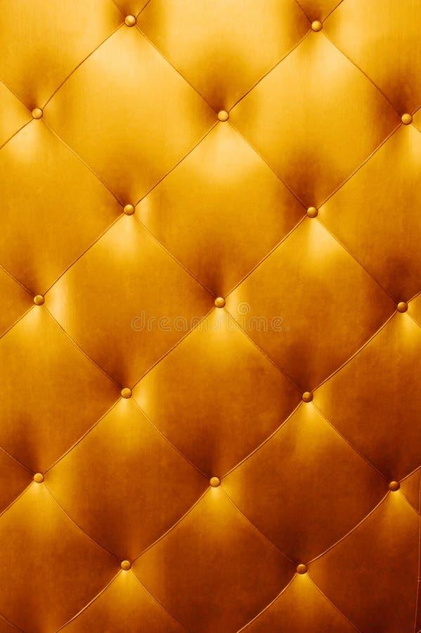 яркая золотистая кожаная роскошь стоковые фотографии rf