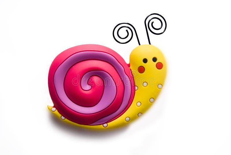 яркая игрушка улитки стоковая фотография rf