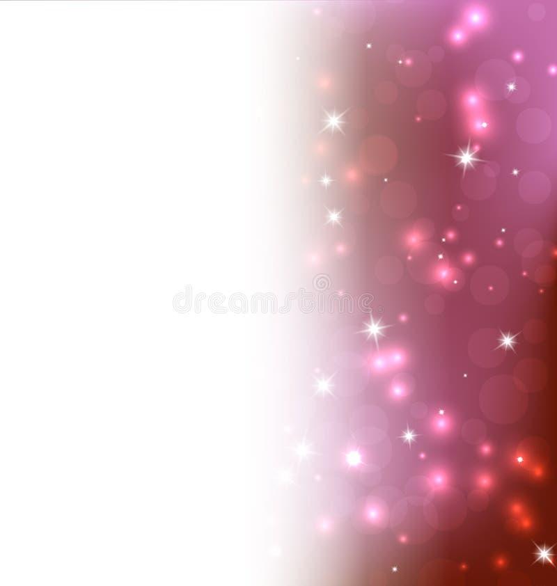Яркая иллюстрация предпосылки рождества конспекта Res иллюстрация штока