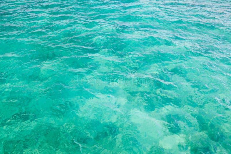 Яркая поверхность воды Атлантического океана стоковое фото rf