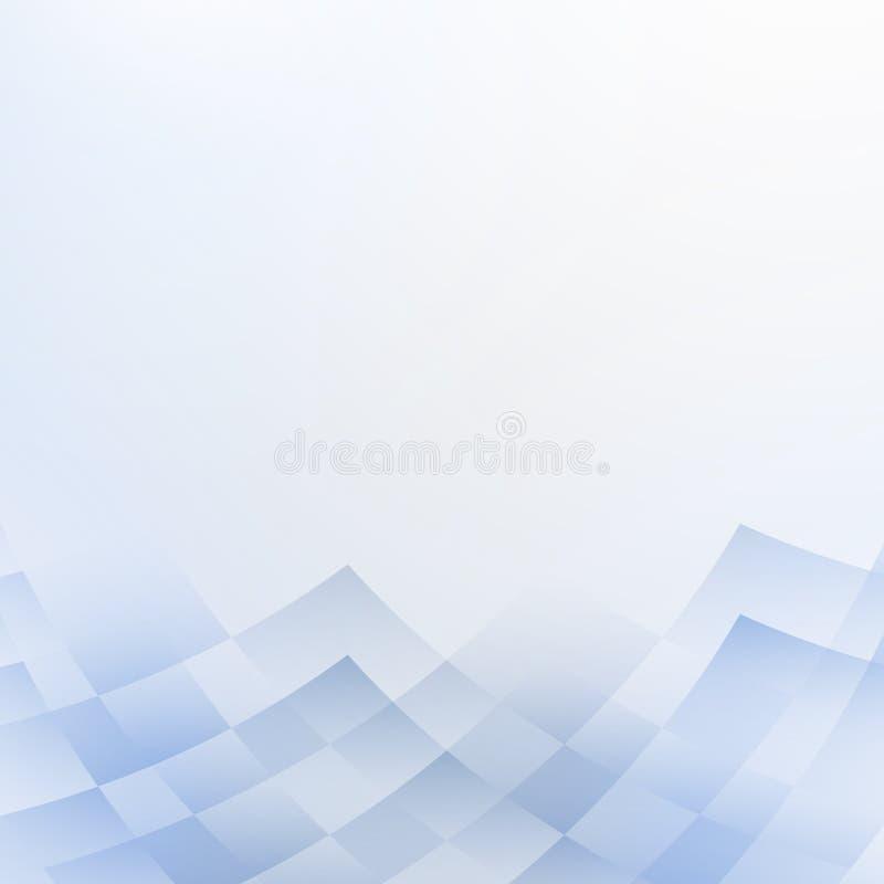 Яркая предпосылка абстрактной технологии иллюстрация штока