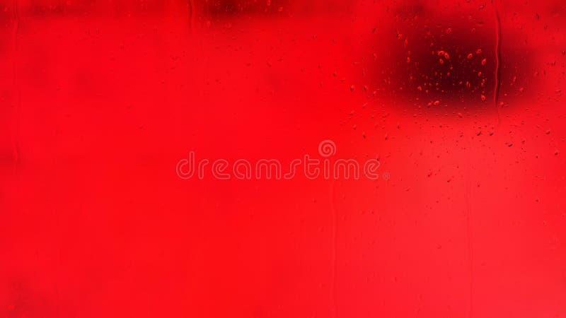 Яркая предпосылка капельки красной воды иллюстрация вектора