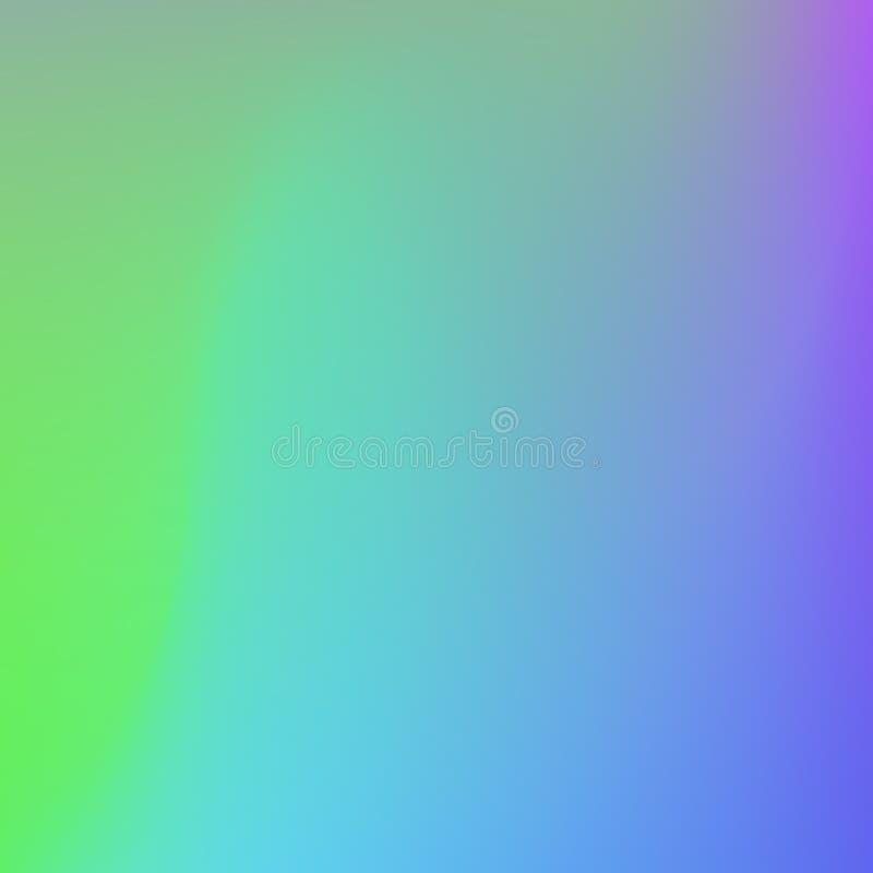 Яркая предпосылка конспекта градиента цветов Ровный цвет иллюстрация вектора