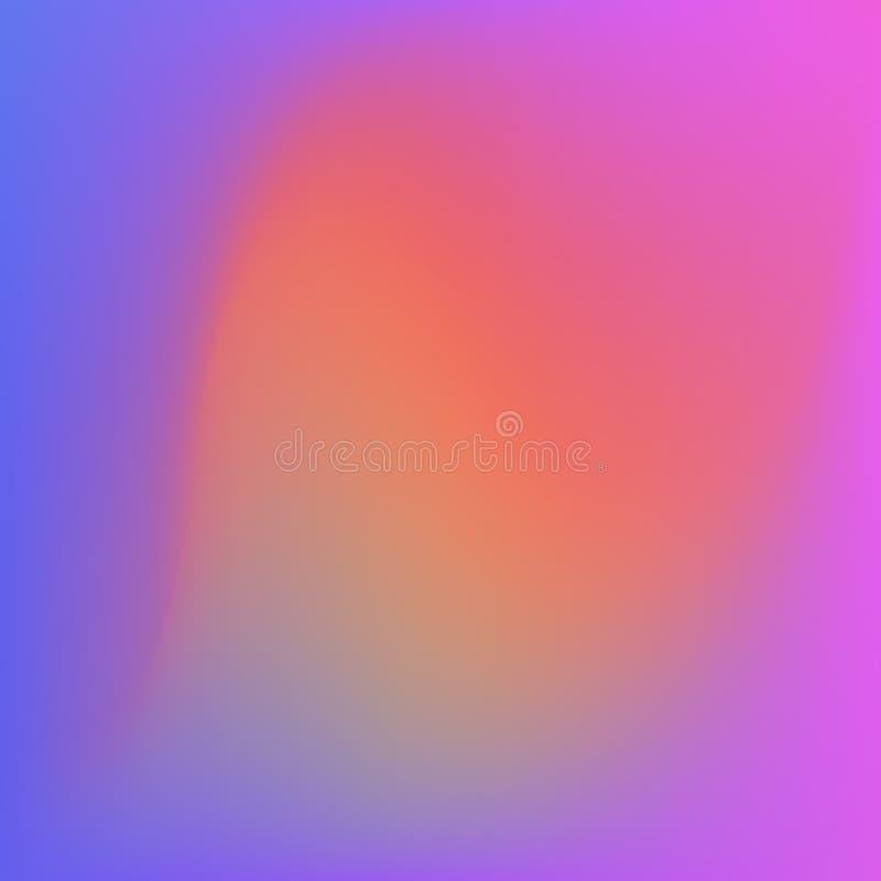 Яркая предпосылка конспекта градиента цветов Ровный цвет иллюстрация штока