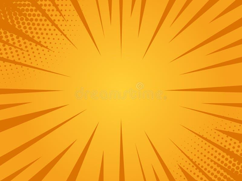 Яркая предпосылка солнечных лучей бесплатная иллюстрация