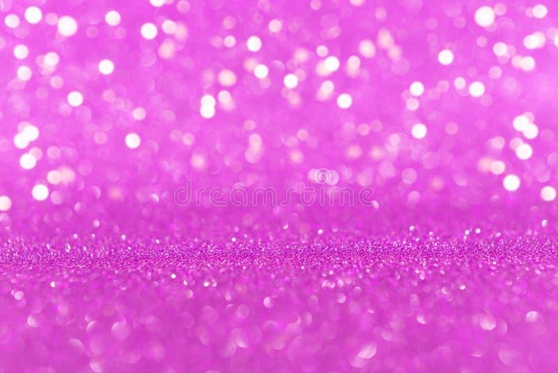 Яркая пурпурная предпосылка яркого блеска стоковая фотография