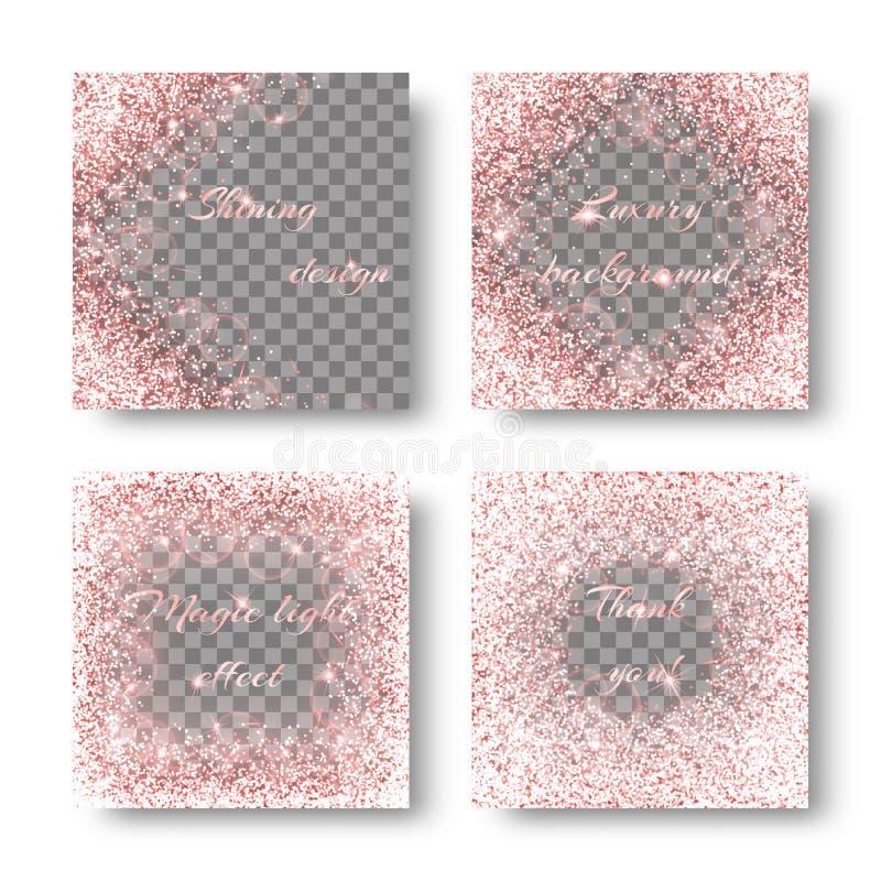 Яркая розовая предпосылка иллюстрация штока