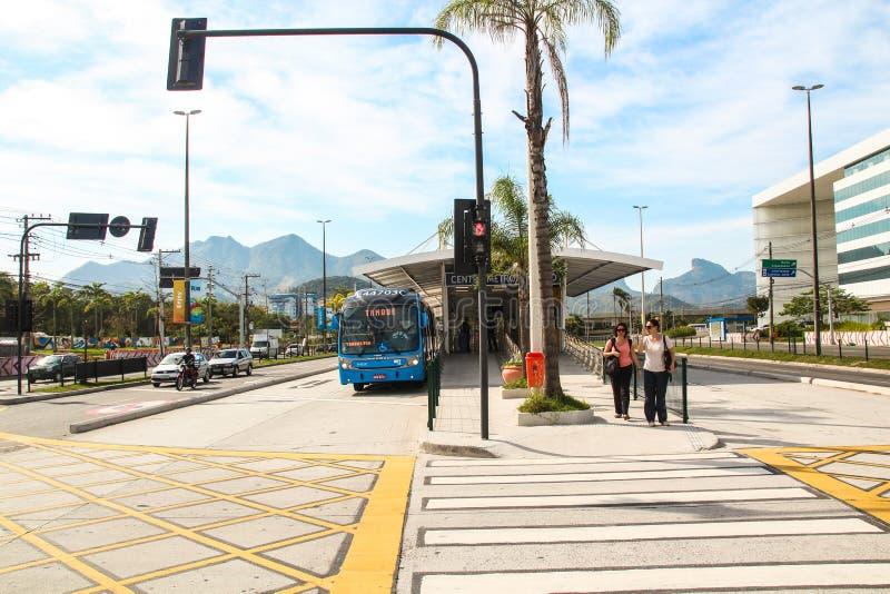 ЯРКАЯ станция в Рио-де-Жанейро стоковое изображение rf