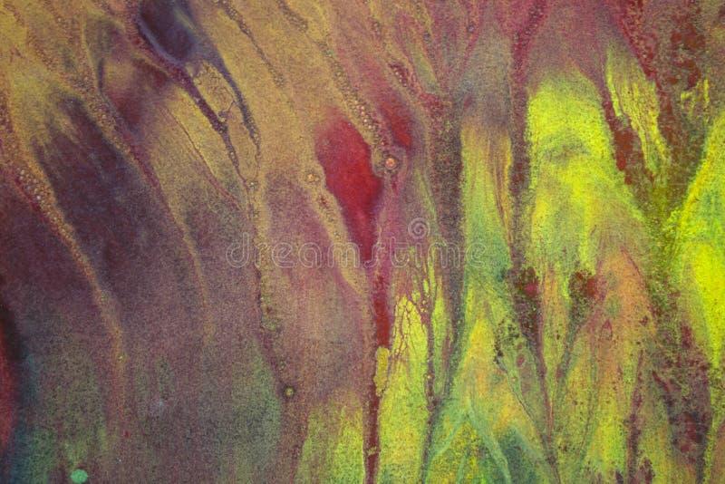 Яркие пятна акварели стоковое изображение rf