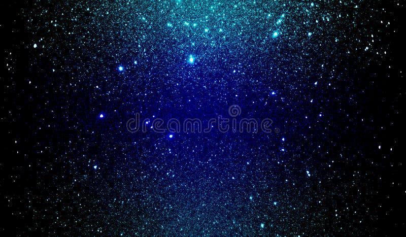 Яркий блеск текстурировал голубые небесно-голубые и черные затеняемые обои предпосылки стоковое фото