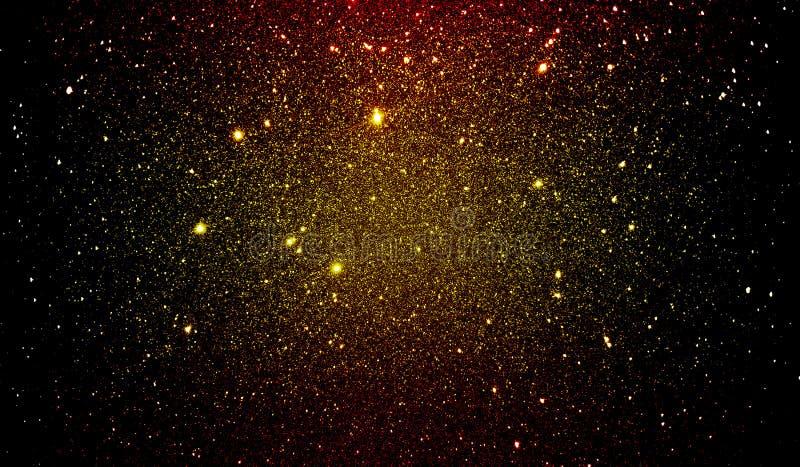 Яркий блеск текстурировал красные желтые черные и золотые затеняемые обои предпосылки стоковое изображение