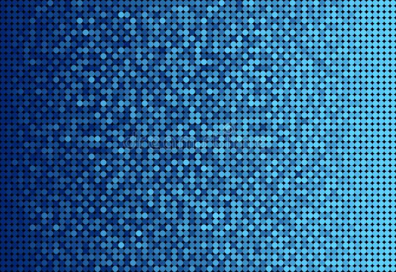 Яркий блеск Sequins знамени голубой, искра, задняя часть бесплатная иллюстрация