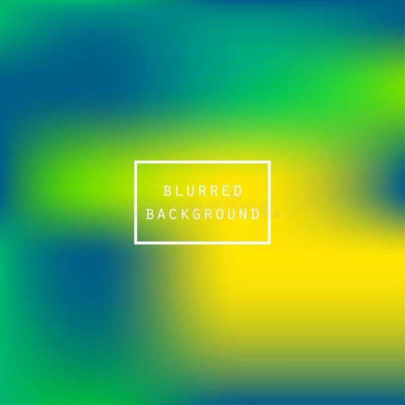 Яркий красочный современный ровный сочный зеленый желтый цвет градиента иллюстрация штока