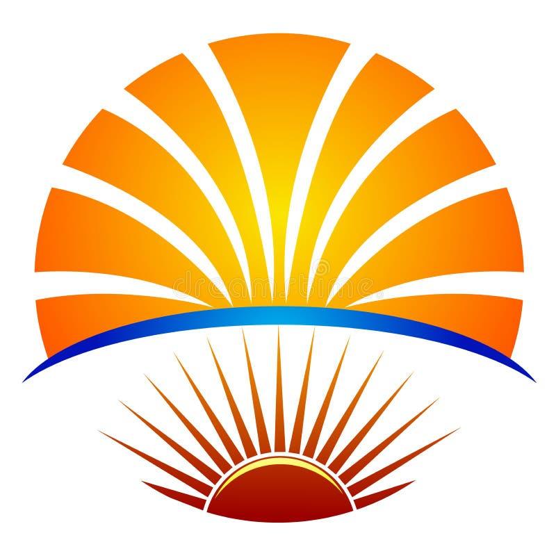 яркий логос образования иллюстрация штока