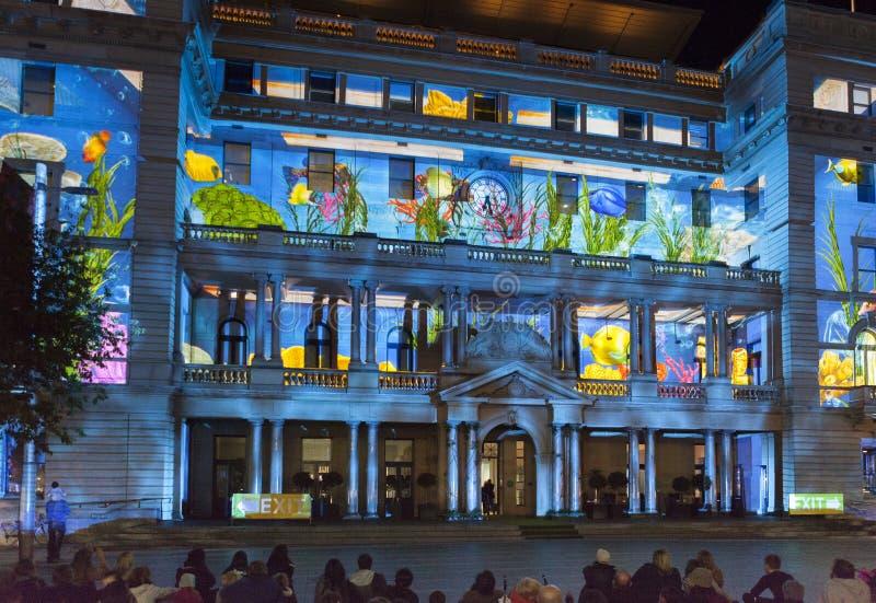 ЯРКИЙ фестиваль Сидней стоковое изображение