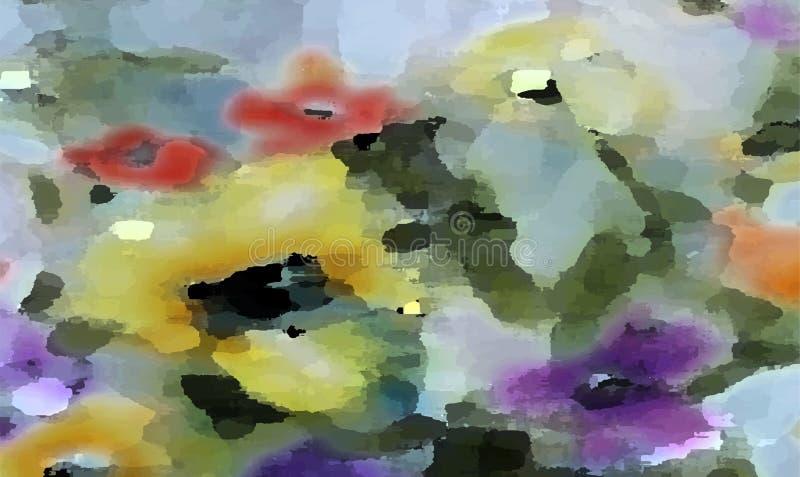Яркий шелк Произведенные цифров графики Image___computer иллюстрация вектора
