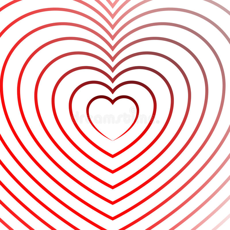 Download Яркий элемент сердца с планами в радиальной моде Иллюстрация вектора - иллюстрации насчитывающей планы, сердце: 81801954